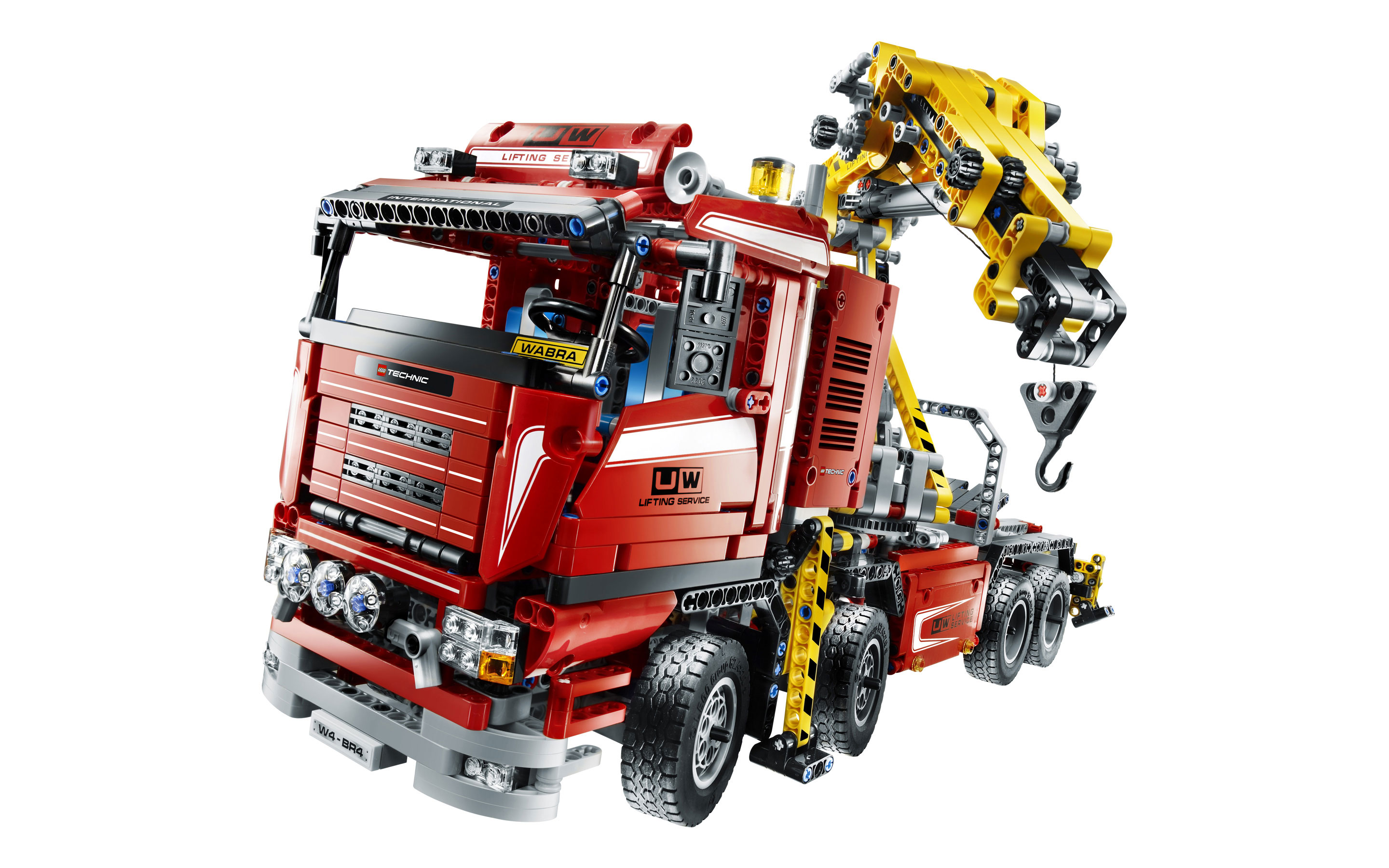 lego technic crane truck 8258 brand new ebay. Black Bedroom Furniture Sets. Home Design Ideas